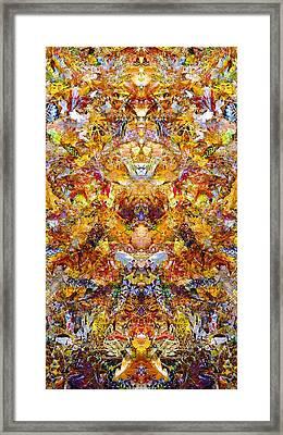 Fall Of The Leaf Gods  Framed Print