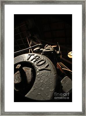 Fall Of Troy Framed Print by Joel Loftus