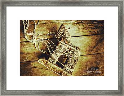 Fall Of Troy Framed Print