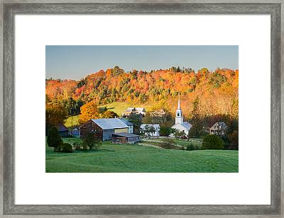 Fall Pastoral Framed Print