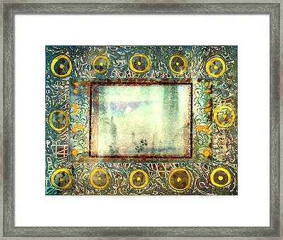 Fall Rain Fall Framed Print by Tom Hefko