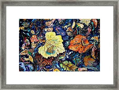 Fall Review Framed Print by Norma Boeckler