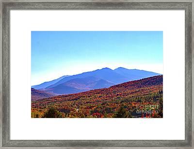 Fall Rolls Through Framed Print by Lloyd Alexander