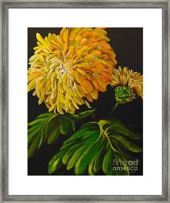Framed Print featuring the painting Fall by Saundra Johnson