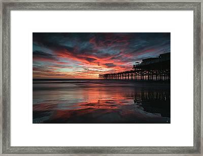 Fall Skies Framed Print