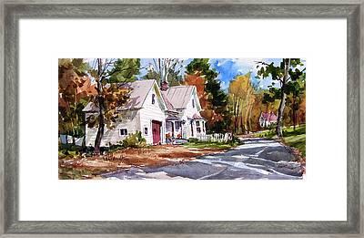 Fall Splendor Framed Print by Tony Van Hasselt