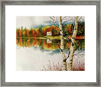 Fall Splendour Framed Print