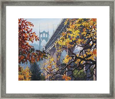 Fall St Johns Framed Print