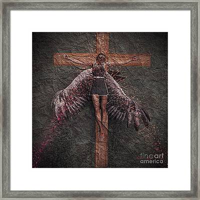 Fallen Angel #2 Framed Print