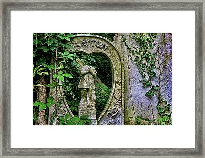 Fallen Angel Framed Print by Oliver Kluwe