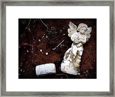 Fallen Angel Framed Print by Susie Weaver
