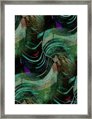 Fallen Angle Framed Print by Sheila Mcdonald