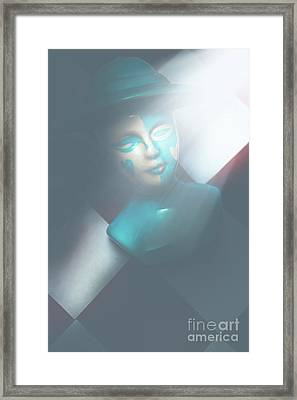 Fallen Blue King Of The Grand Chessboard Framed Print by Jorgo Photography - Wall Art Gallery