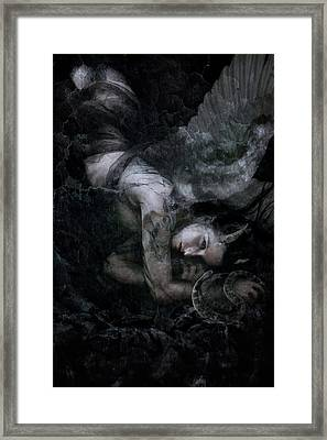 Fallen Framed Print by Cambion Art