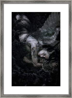 Fallen Framed Print by Cambion Art