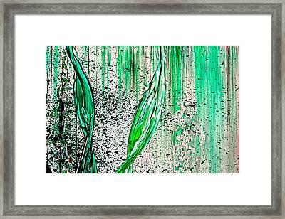 Fallen Framed Print by Izabela Bienko