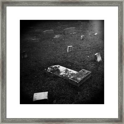 Fallen Framed Print by Paul Anderson
