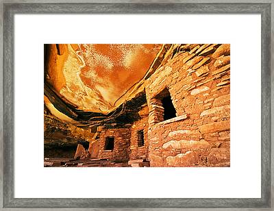 Fallen Roof Granary Framed Print by Nolan Nitschke