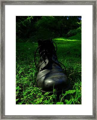 Fallen Soldier Framed Print