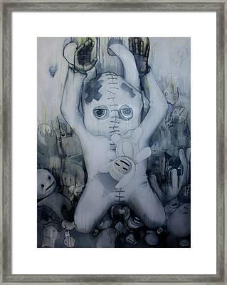 Falling Alseep Framed Print by Konrad Geel