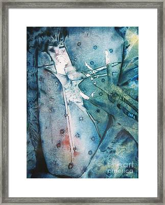 Falling Apart Framed Print by Shirley McMahon