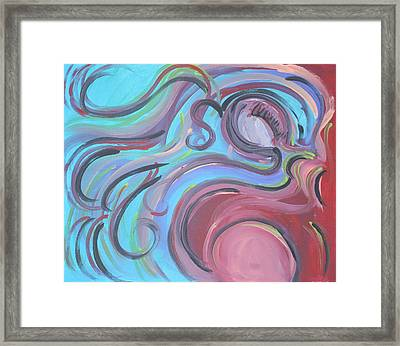 Falling Behind Framed Print by Jessica Kauffman