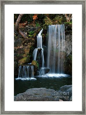 Falling For You Framed Print by Clayton Bruster