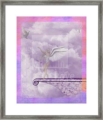 Falling In Love Framed Print by Morning Dew