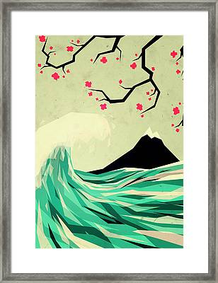 Falling In Love Framed Print