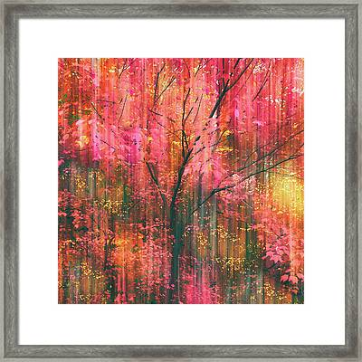 Framed Print featuring the photograph Falling Into Autumn by Jessica Jenney
