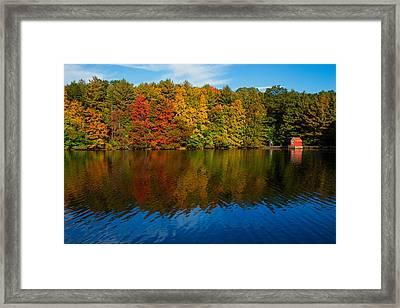 New England Colors Framed Print by Karol Livote