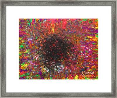 Falling Framed Print by Jacqueline Athmann