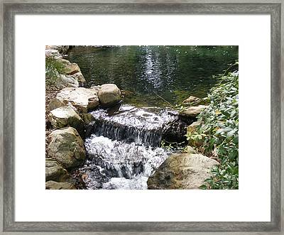 Falling Framed Print by James and Vickie Rankin