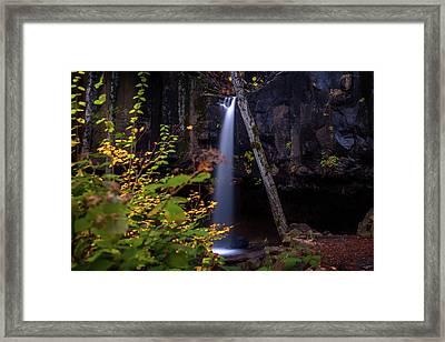 Falling  Framed Print