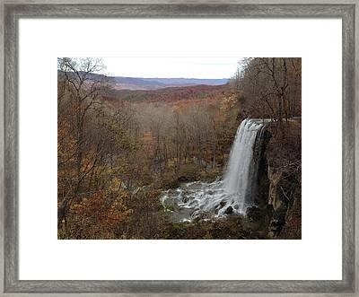 Falling Spring Falls, Va Framed Print
