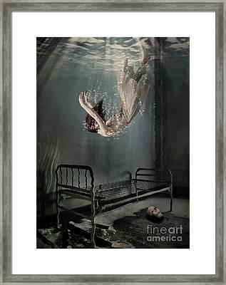Falling To Sleep Framed Print by Juli Scalzi
