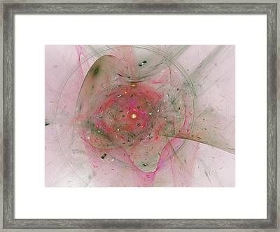 Falling Together Framed Print