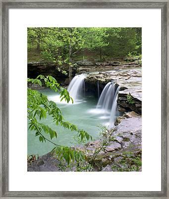 Falling Water Falls 4 Framed Print by Marty Koch