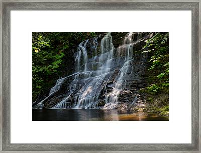 Falling Water Framed Print by Randy Hall