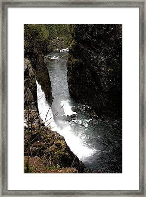 Falling Waters Framed Print by Bonnes Eyes Fine Art Photography