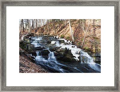 Falling Waters In February #1 Framed Print