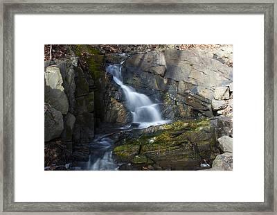 Falling Waters In February #2 Framed Print