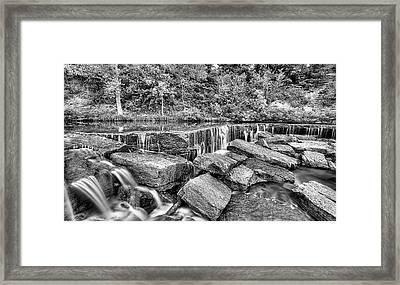 Falling Waters On Deep Creek Framed Print by JC Findley