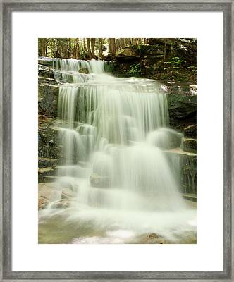 Falling Waters Framed Print