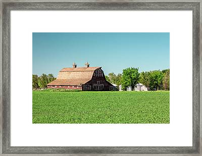 Fallon County Farm Framed Print by Todd Klassy