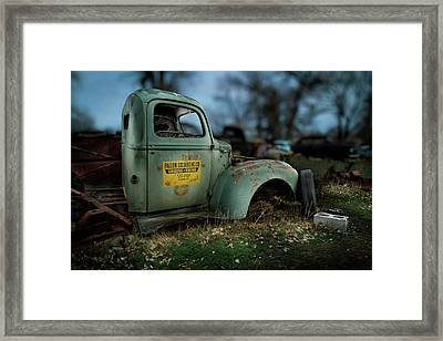 Fallon Excavating Co. Framed Print by YoPedro
