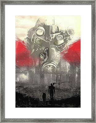 Fallout 4  Framed Print