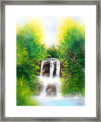 Falls 02 E Framed Print