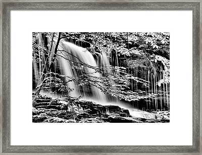 Falls And Trees Framed Print by Paul W Faust - Impressions of Light