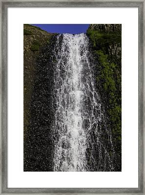 Falls Close Up Framed Print